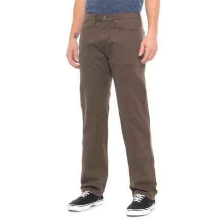 Dockers Standard Straight-Leg Jean-Cut Pants (For Men) in Smokey Hazelnut - Closeouts