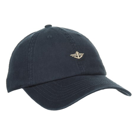 Dockers Washed Twill Baseball Cap (For Men) in Navy