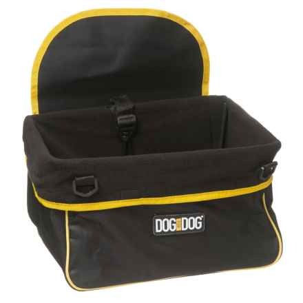 Dog for Dog Booster Car Seat in Black - Closeouts