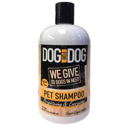 Dog for Dog Brightening Fresh and Clean Pet Shampoo - 17 oz. in See Photo - Closeouts