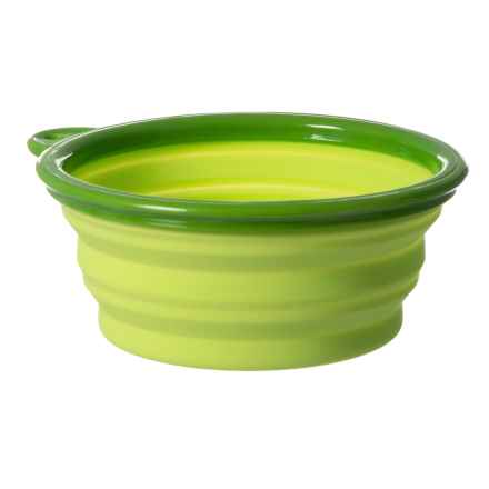 Dog for Dog Collapsible Bowl - 12 oz. in Green - Closeouts