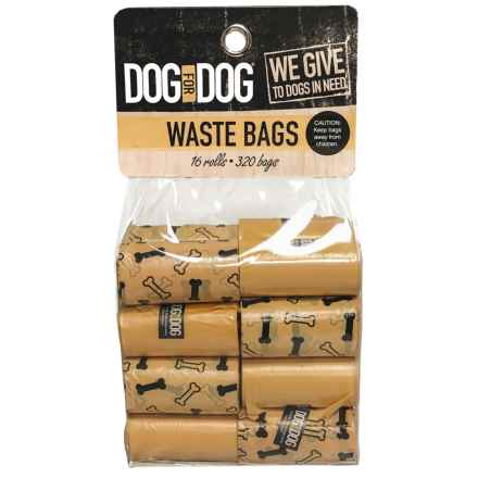 Dog for Dog Dog Waste Bags - 160-Count in Orange - Closeouts