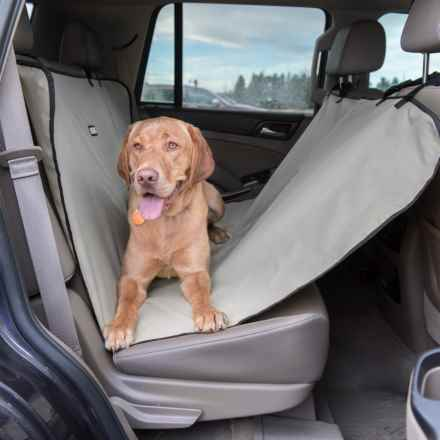 """Dog for Dog Hammock-Style Car Seat Cover - 56x54"""" in Grey - Closeouts"""