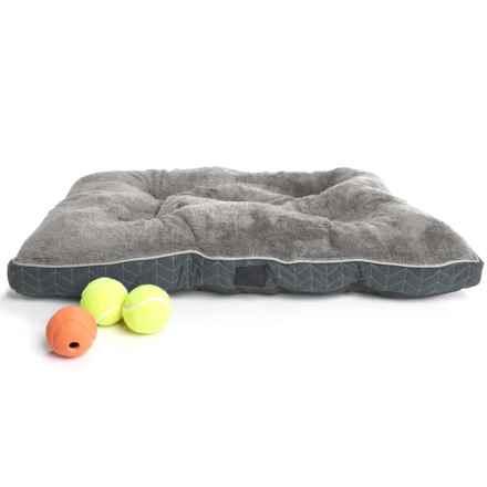 "Dog For Dog Herringbone Dog Crate Mat - 30x22"" in Gray - Closeouts"