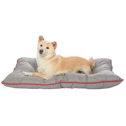 """Dog for Dog Oxford Bone Dog Bed - 30x40"""" in Grey - Closeouts"""