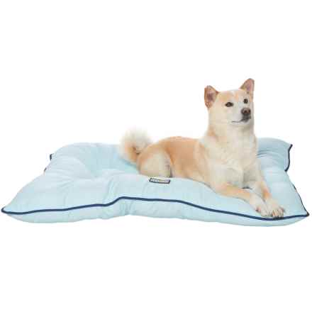 "Dog for Dog Oxford Bone Dog Bed - 30x40"" in Sky Blue - Closeouts"