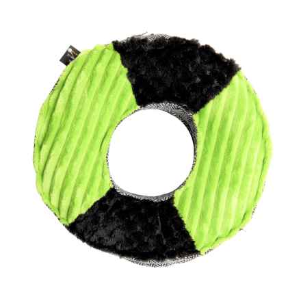 Dog for Dog Wacky Wheel Squeaker Dog Toy in Green - Closeouts