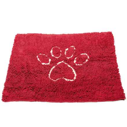 Dog Gone Smart Dirty Dog Doormat - Large in Maroon - Closeouts