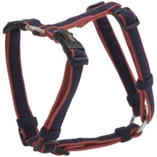 "Dog Gone Smart Wear Dog Harness - 5/8"" in Navy/Red - Closeouts"