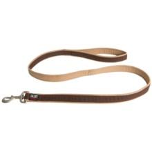Dog Gone Smart Wear Dog Leash - 4' in Brown/Khaki - Closeouts
