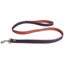 Dog Gone Smart Wear Dog Leash - 4' in Navy/Red - Closeouts