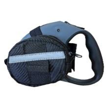 Doggo Retractable Leash Accessory Bag in Black - Closeouts