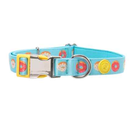 DOGHAUS Foodie Donut Dog Collar in Donut - Closeouts