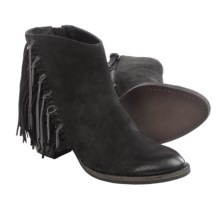Dolce Vita Juneau Fringe Boots (For Women) in Black Nubuck - Closeouts