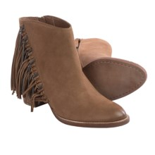 Dolce Vita Juneau Fringe Boots (For Women) in Teak Nubuck - Closeouts
