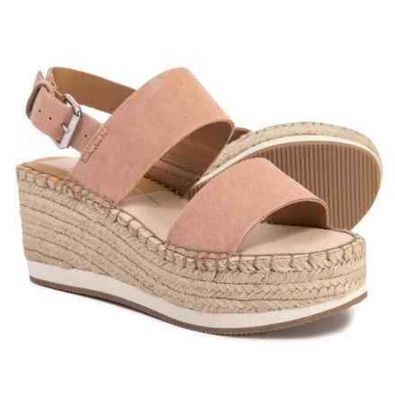 Dolce Vita Mady High Wedge Espadrilles (For Women) in Rose - Closeouts