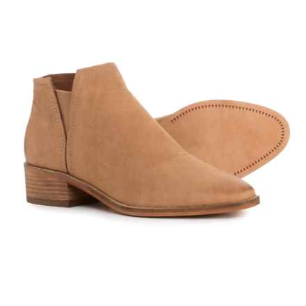 Dolce Vita Tacy Ankle Boots - Nubuck (For Women) in Tan Nubuck - Closeouts