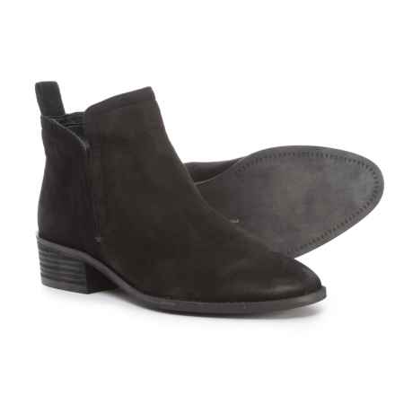 Dolce Vita Tegan Ankle Boots - Nubuck (For Women) in Black Nubuck - Closeouts