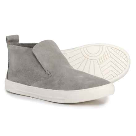 Dolce Vita Xadie Suede Sneakers - Slip-Ons (For Women) in Smoke Suede - Closeouts