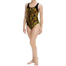 Dolfin Aero Competition Swimsuit (For Women) in Aero Gold - Closeouts
