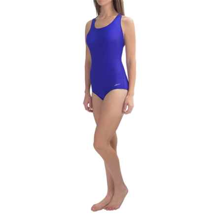 Dolfin Aquashape Conservative Lap Swimsuit (For Women) in Royal - Closeouts