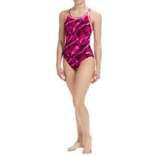 Dolfin Aquashape Swimsuit - Built-In Shelf Bra (For Women) in Marina Magenta - Closeouts