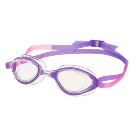 Dolfin Aurora Swimming Goggles (For Women) in Clear Purple - Closeouts