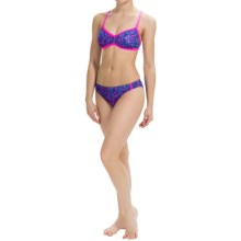 Dolfin Bellas Bikini Set - UPF 50+ (For Women) in Carnivale Pink - Closeouts