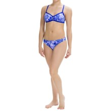 Dolfin Bellas Bikini Set - UPF 50+ (For Women) in Java Blue - Closeouts