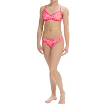 Dolfin Bellas Bikini Set - UPF 50+ (For Women) in Java Melon - Closeouts