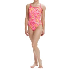 Dolfin Bellas Java Training Swimsuit - UPF 50+ (For Women) in Java Melon - Closeouts
