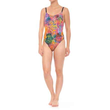 Dolfin Bellas Ultra-Low Back Mamba One-Piece Swimsuit - UPF 50+ (For Women) in Mamba - Closeouts