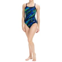 Dolfin Ceres Competition Swimsuit (For Women) in Ceres Blue/Green - Closeouts