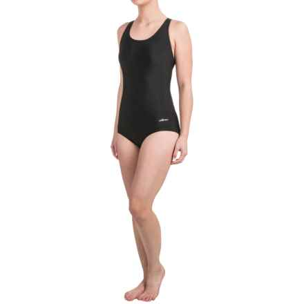 Dolfin Competition Eco Swimsuit (For Women) in Black - Closeouts