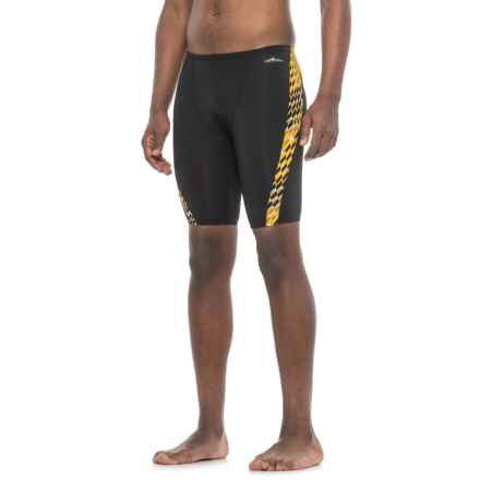 Dolfin Enzo Spliced Jammer Swimsuit (For Men) in Gold - Closeouts