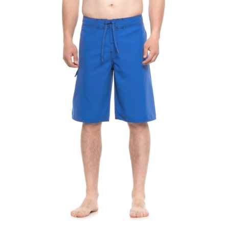 Dolfin Fitted Boardshorts (For Men) in 475 Royal - Closeouts