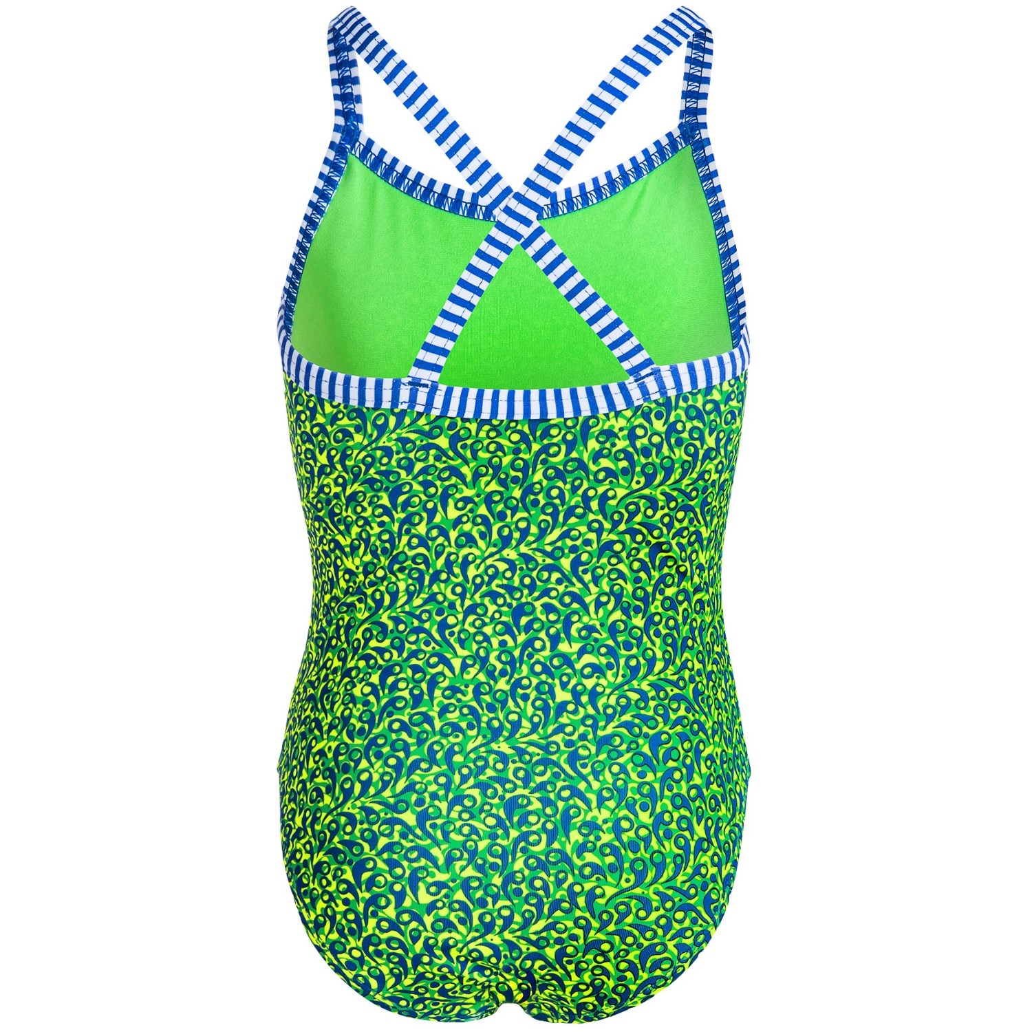 f005754c05305 Dolfin Girls Uglies One-Piece Swimsuit - UPF 50+ (For Little and Big Girls)