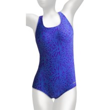 Dolfin Ocean Aquashape High-Performance Swimsuit - Muscle Back, 1-Piece (For Women) in Kahla Blue - Closeouts