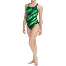 Dolfin Razor Competition Swimsuit (For Women) in Razor Green - Closeouts
