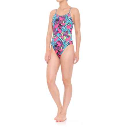 Dolfin Uglies Origami String Back Swimsuit - UPF 50+ (For Women) in Origami - Closeouts