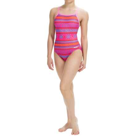 Dolfin Uglies Practice Swimsuit (For Girls and Women) in Coco - Closeouts