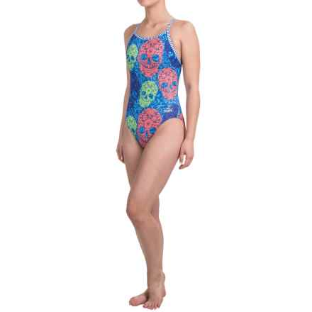 Dolfin Uglies Practice Swimsuit (For Girls and Women) in Dangerous Curves - Closeouts