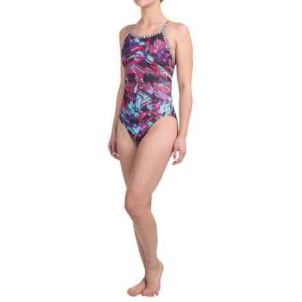 Dolfin Uglies Practice Swimsuit (For Girls and Women) in Presto Chango - Closeouts