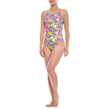 12ba88aed5036 Dolfin Uglies Print V-2 Back Swimsuit (For Women) - Save 41%