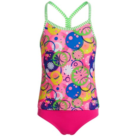 Dolfin Uglies Tankini Set - UPF 50 (For Big Girls in Lulabelle