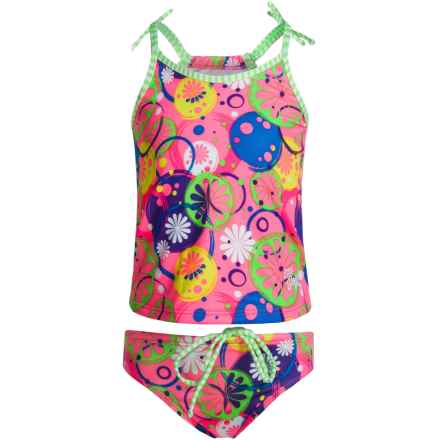 Dolfin Uglies Tankini Set - UPF 50 (For Toddler Girls) in Lulabelle - Closeouts