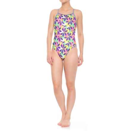Dolfin Uglies Whimsy V-2 Back Swimsuit - UPF 50+ (For Women) in Whimsy - Closeouts