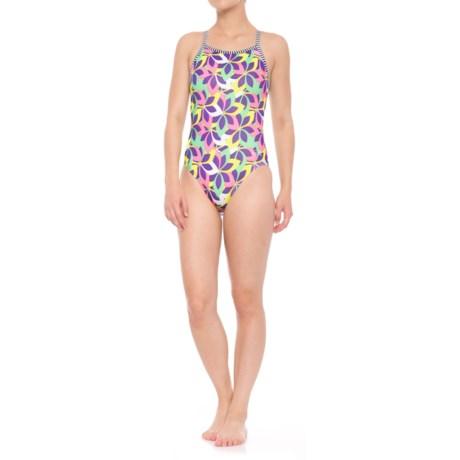 Dolfin Uglies Whimsy V-2 Back Swimsuit - UPF 50+ (For Women) in Whimsy