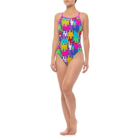 aec39adf50a Dolfin Winners V-Back Competition Swimsuit (For Women) in Game-On!
