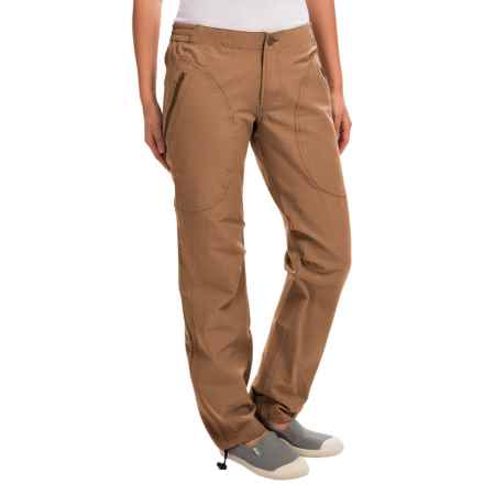 Dolly Varden Blue River Cargo Pants - UPF 50 (For Women) in Camel - Closeouts